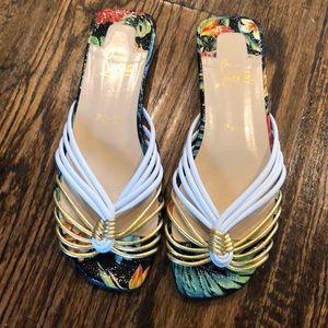 Christian Louboutin Hawaii Flat Sandals 37/7